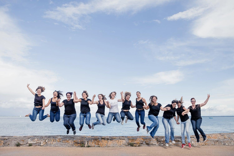 pour un EVJF fun à Arcachon, à Bordeaux, pensez à l'activité séance photo pour vous amuser et garder des souvenirs entre copines
