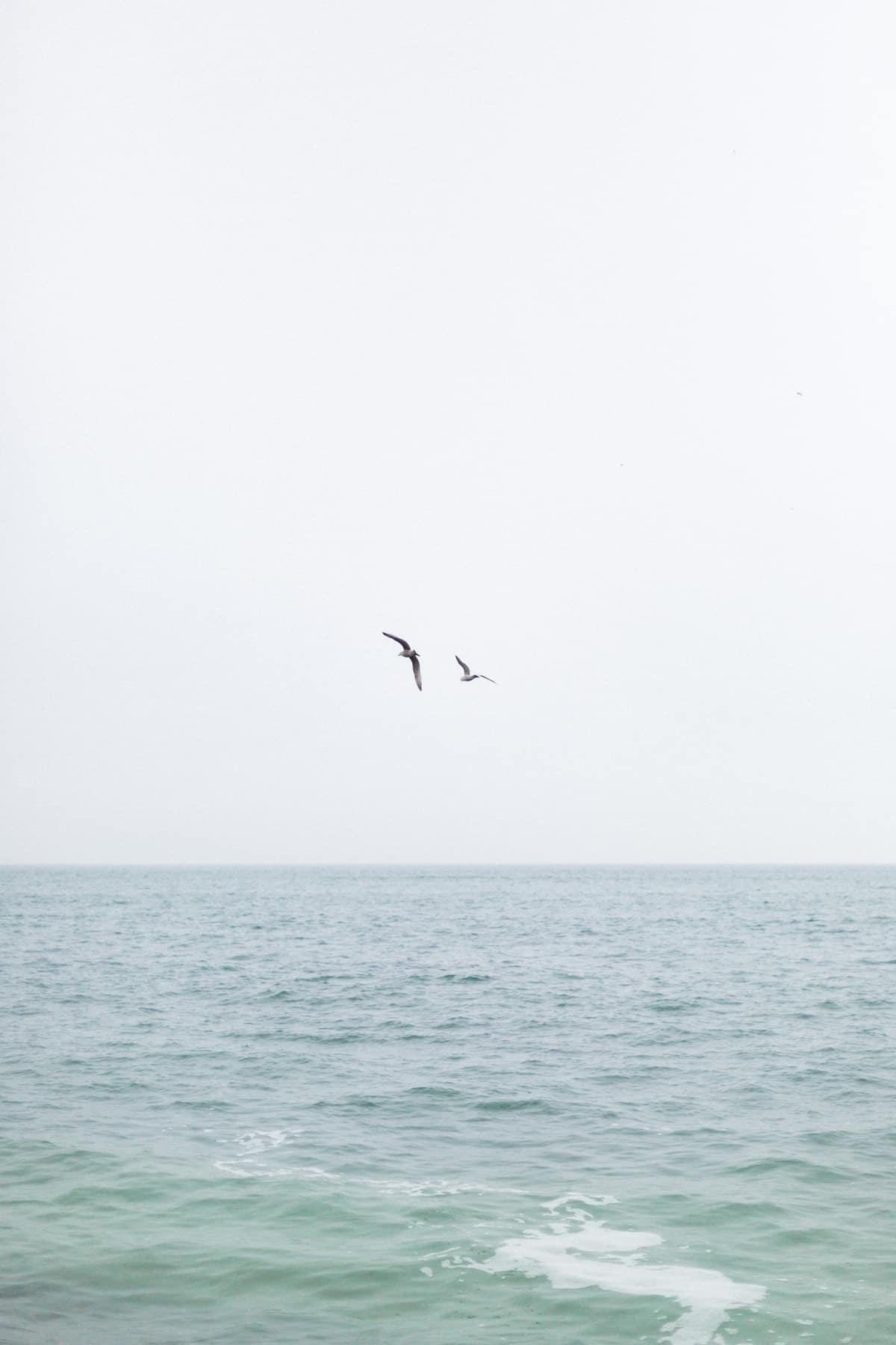 l'océan en Normandie