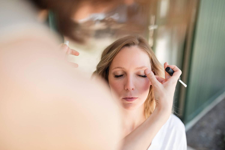 maquillage mariée à Bordeaux par Pauline B