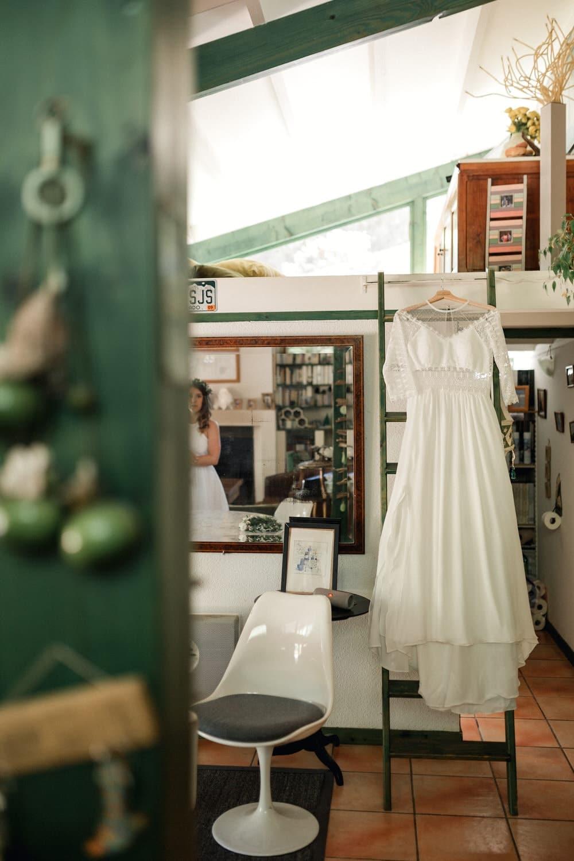 robe de mariée de créatrice Eleonore Pauc à Bordeaux