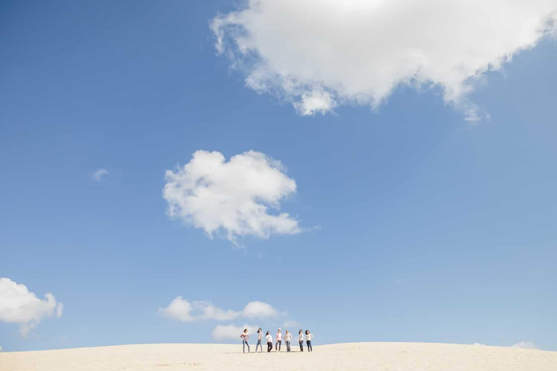EVJF sur la dune du pilat