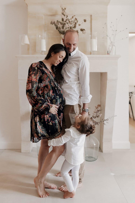 portrait de famille, séance maternité